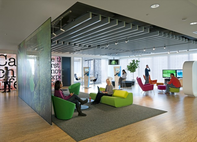 Breaking the Wall: 4 Office Designs that Enhance Creativity & Productivity