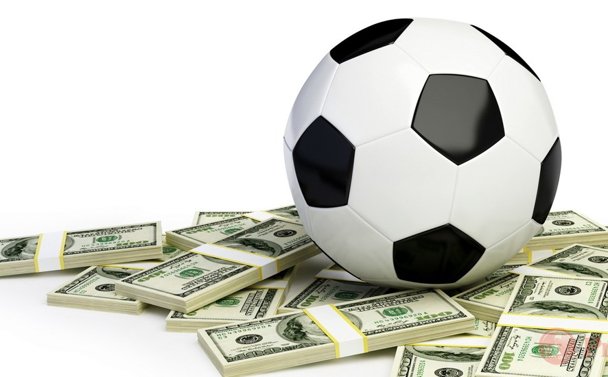Cash bets on football matches