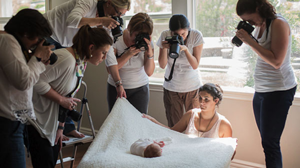 Photographing A Baby – Easier Said Than Done