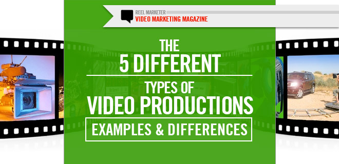 5 types of Video Productions