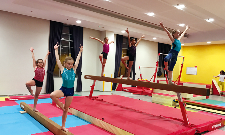 A few benefits of gymnastics for kids
